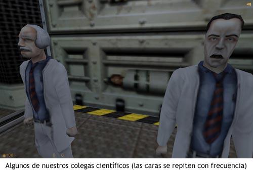 Half-Life - Científicos