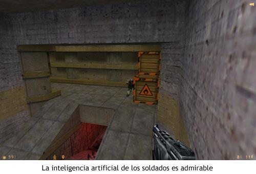 Half-Life - Inteligencia artificial de los soldados
