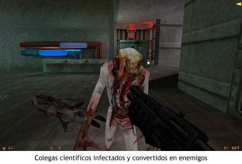 Half-Life - Científicos infectados