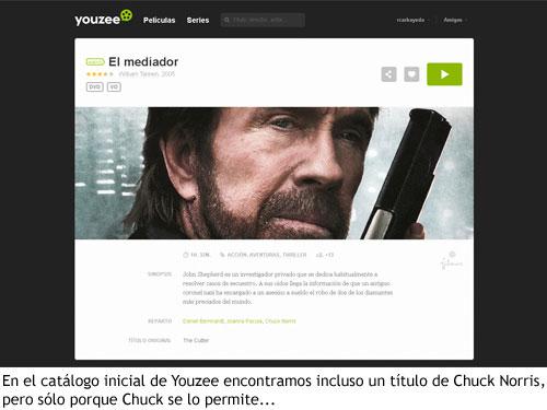 Youzee - Película de Chuck Norris