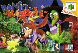 Banjo Kazooie - Box Art