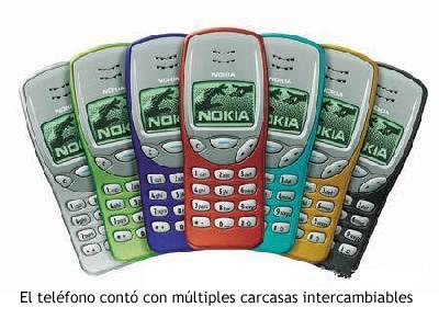 Nokia 3210 - Carcasas