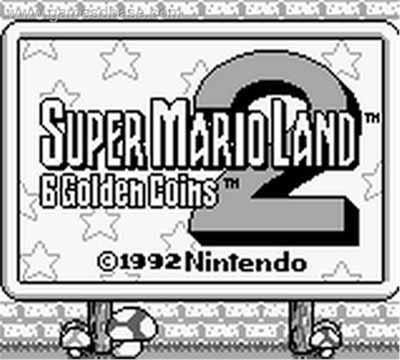 Super Mario Land 2 - Inicio