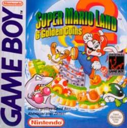 Super Mario Land 2 - Portada