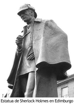 Sherlock Holmes - Estatua
