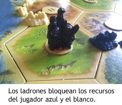 Colonos de Catán - Ladrones
