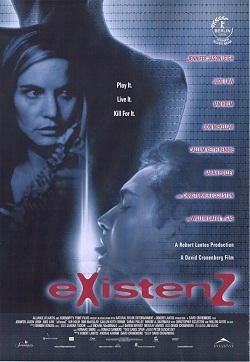 eXistenZ - Portada