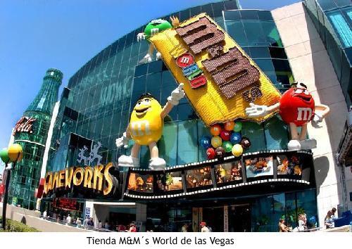 Los MMs - Fachada de la tienda de Las Vegas