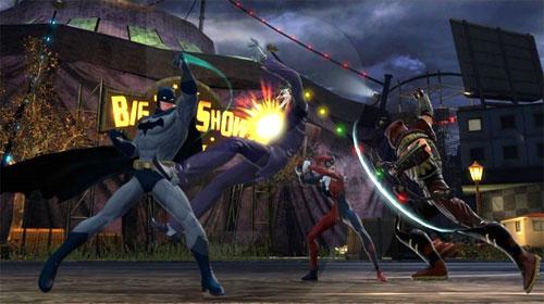 Juegos para navegador - DC Universe Online