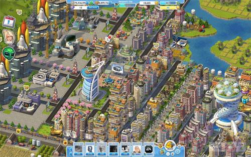 Juegos para navegador - Simcity social