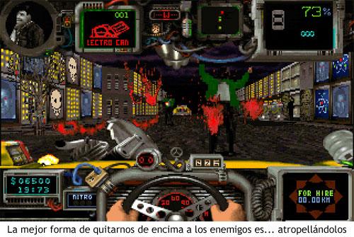 Quarantine (1994) - Atropellando enemigos