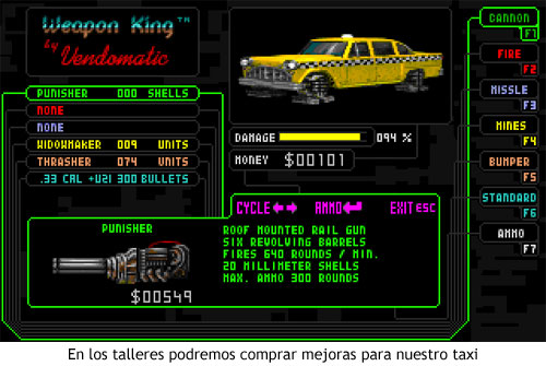 Quarantine (1994) - Mejorando el coche en el taller