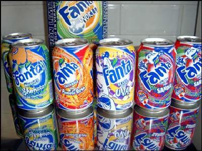 Fanta Piña - Ediciones de verano