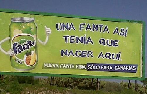 Fanta Piña - Anuncio