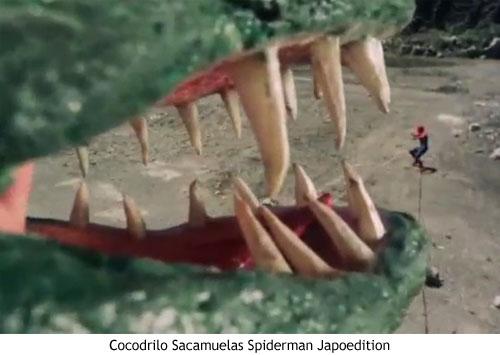Spider-man japonés - Cocodrilo sacamuelas