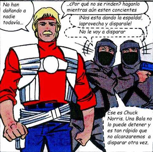 Karate Kommandos - Dando la espalda