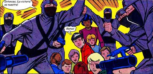 Karate Kommandos - Ninjas felices