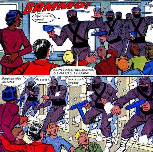 Karate Kommandos - Entrada Ninja