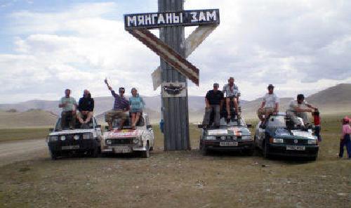 El mongol rally - Ganadores edición 2004