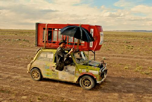 El mongol rally - Mini con cabina