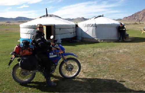 El mongol rally - Moto