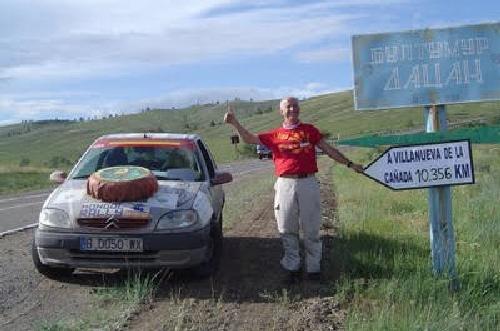 El mongol rally - Citroën Saxo