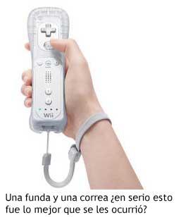 Wii - Funda y correa del mando