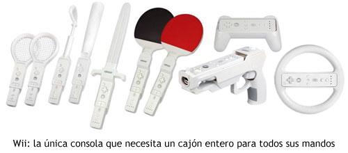 Wii - Accesorios del mando
