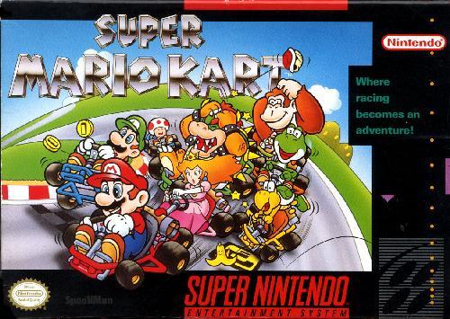 Super Mario Kart - Caja