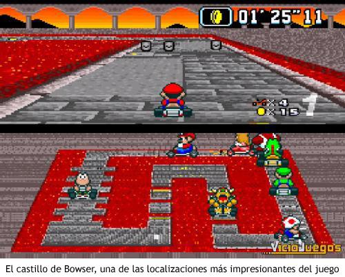 Super Mario Kart - Castillo de Bowser
