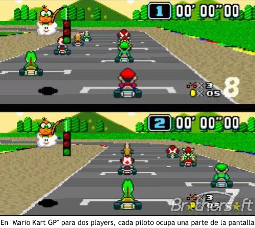 Super Mario Kart - Dos jugadores