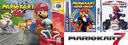 Super Mario Kart - Juegos