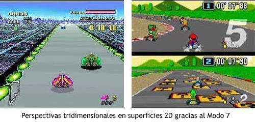 Super Mario Kart - Modo 7