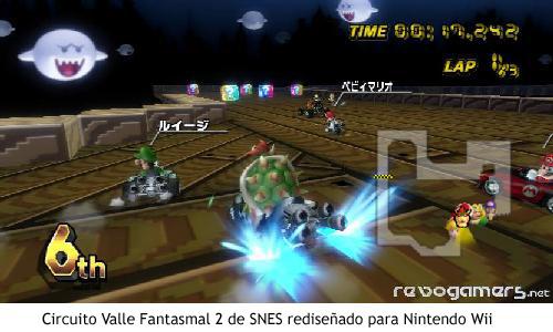 Super Mario Kart – Valle fantasmal 2 para Nintendo Wii