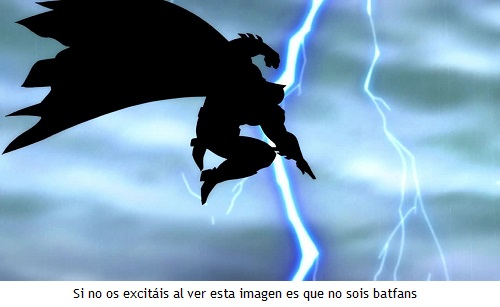 Batman regreso - Trueno épico