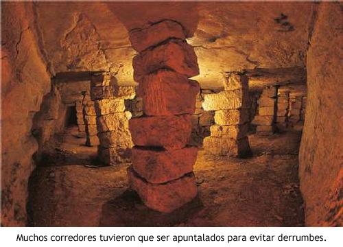 Catacumbas - Apuntalada