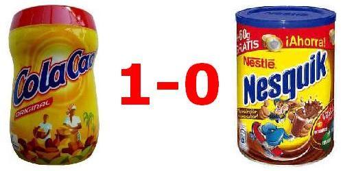Cola Cao VS Nesquik - 1-0