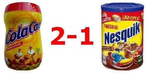 Cola Cao VS Nesquik - 2-1
