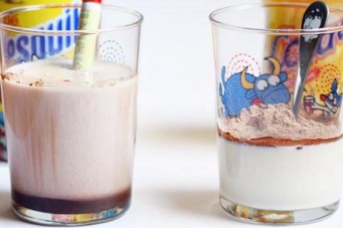 Cola Cao VS Nesquik - Vasos