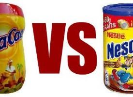 Cola Cao VS Nesquik, la batalla definitiva