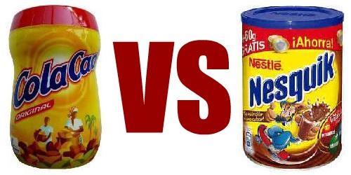 Cola Cao VS Nesquik - Versus