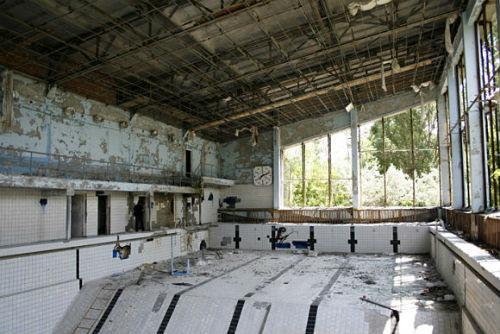 Pripyat - Piscina ahora