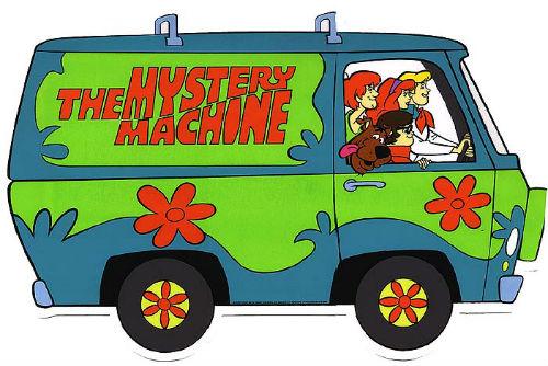 Scooby - Doo - Furgoneta