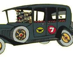 Los autos locos - Coche 7