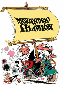 Mortadelo y Filemón - Moto