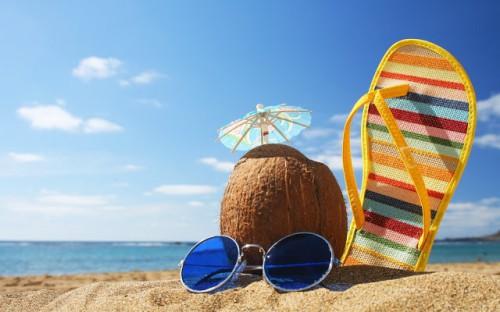 Las vacaciones de verano - diversión