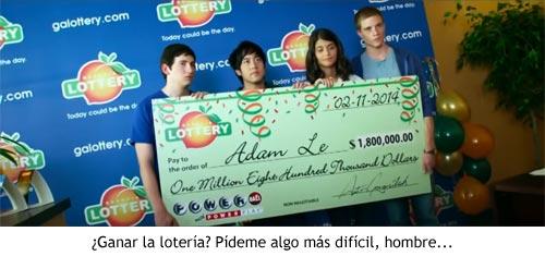 Project Almanac - Ganando la lotería
