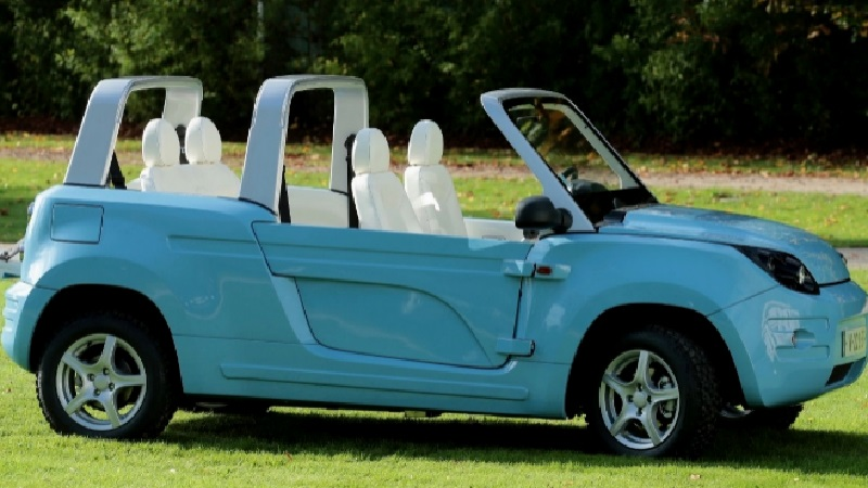 Citroen Mehari - Blue Summer