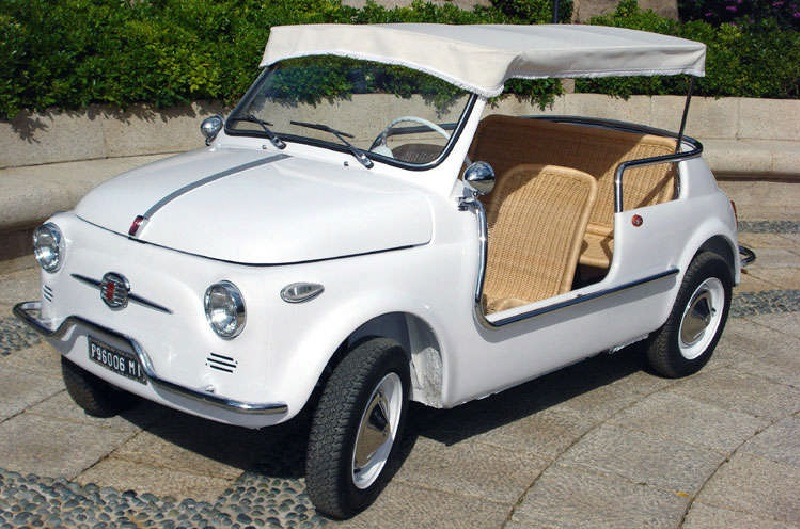 Citroen Mehari - Fiat 500 Jolly