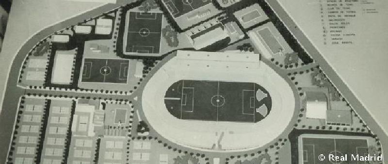 Cuatro torres - antigua ciudad deportiva